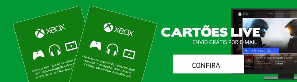 Cartões Xbox Live - Gold - Microsoft
