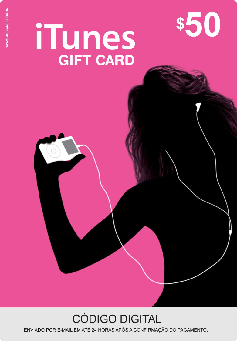 Cartão Itunes $50 Gift Card  - FastGames