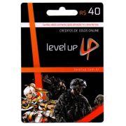 Cartão Level Up R$40