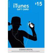 Cartão Itunes $15 Gift Card