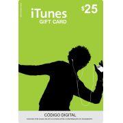 Cartão Itunes $25 Gift Card