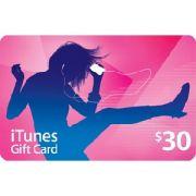Cartão Itunes $30 Gift Card