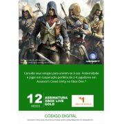 Xbox Live 13 Meses Gold Card (Live Brasil)