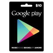 Cartão Google Play $10