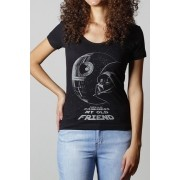 Camiseta Death Star - Feminina