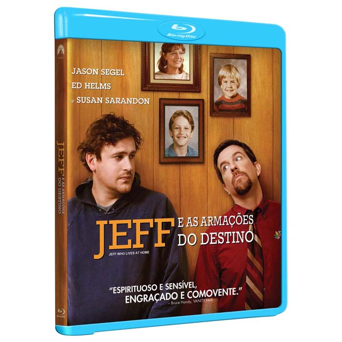 Jeff e As Armações do Destino - Blu-ray  - FastGames