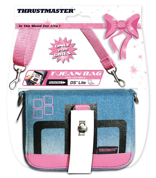 Bolsa T-Jean Bag 2 (Thrustmaster) - DSi / DS Lite  - FastGames - Gamers levados a sério