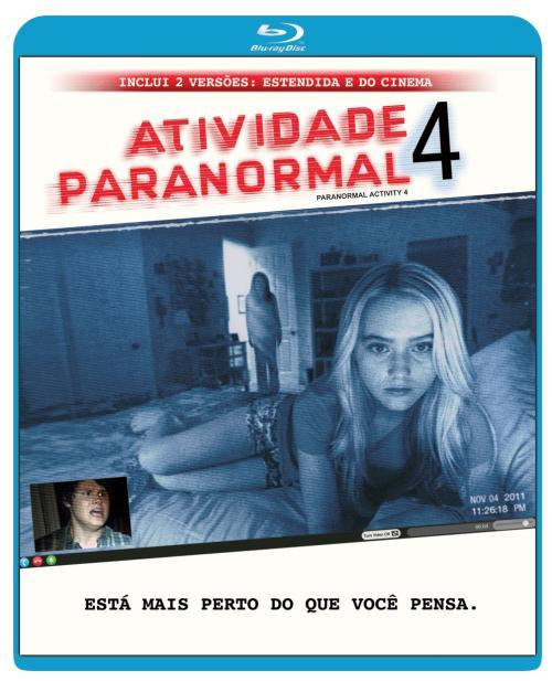 Atividade Paranormal 4 - Blu-ray  - FastGames