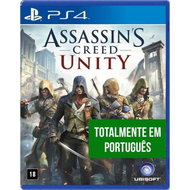Assassins Creed Unity (Seminovo) - PS4  - FastGames - Gamers levados a sério