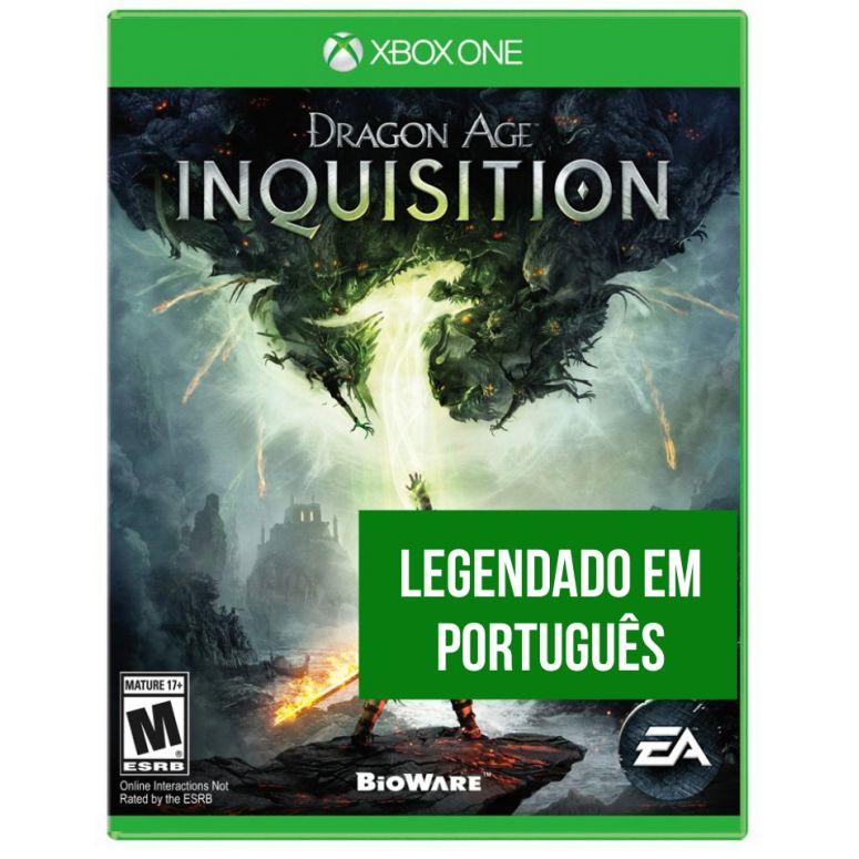 Dragon Age Inquisition (Seminovo) - XBOX One  - FastGames - Gamers levados a sério