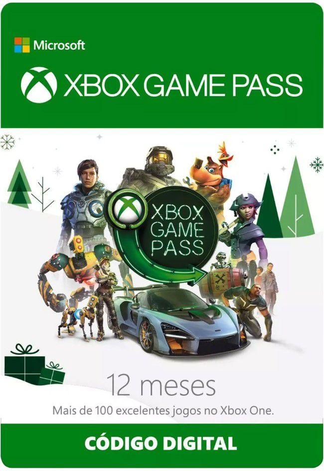 Cartão Assinatura Xbox Game Pass (12 Meses) - XBOX One  - FastGames