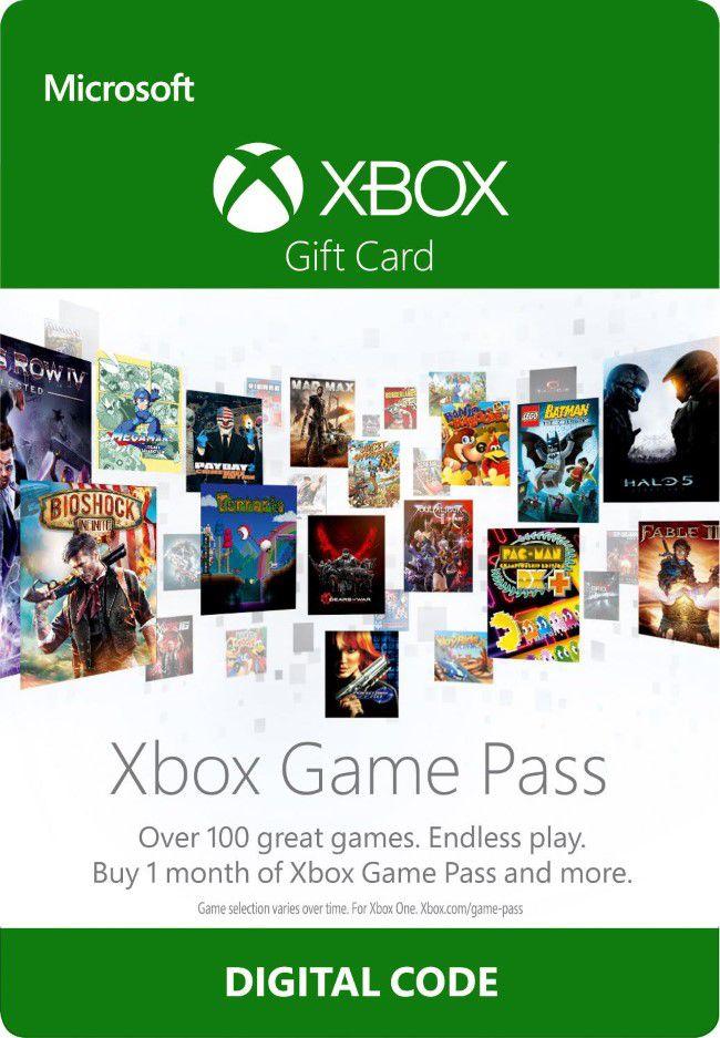 Cartão Assinatura Xbox Game Pass (1 Mês) - XBOX One  - FastGames