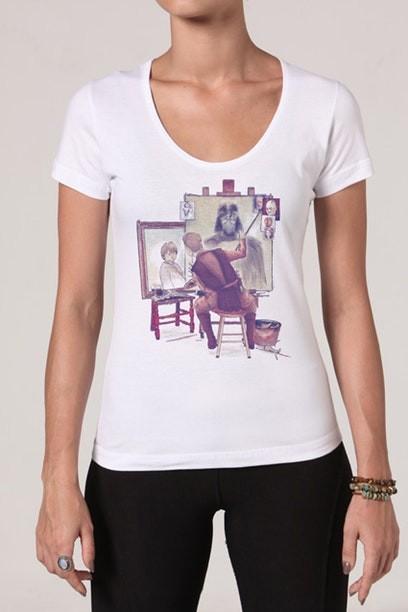Camiseta Anakins Portraits - Feminina  - FastGames