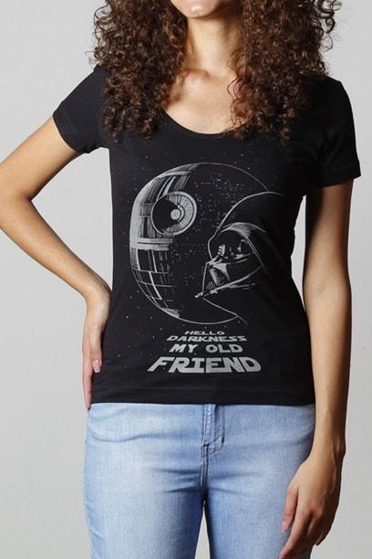 Camiseta Death Star - Feminina  - FastGames