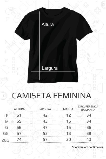 Camiseta Stranger Things - Feminina  - FastGames