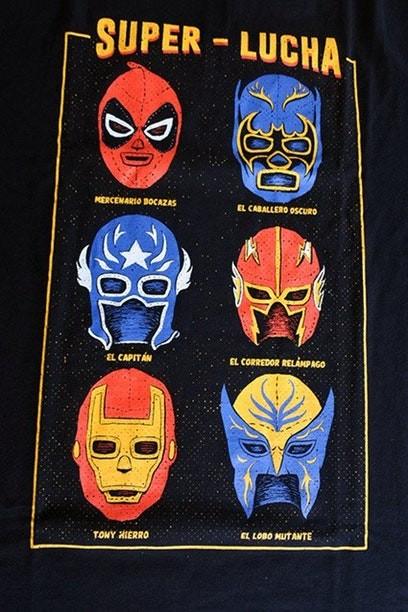 Camiseta Super Lucha - Masculina  - FastGames