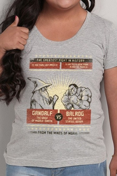 Camiseta The Greatest Fight In History - Feminina  - FastGames