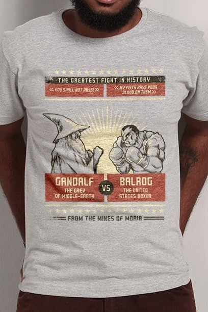 Camiseta The Greatest Fight In History - Masculina - FastGames
