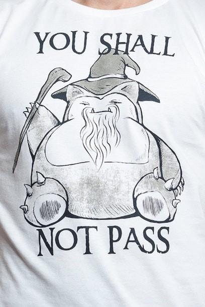 Camiseta You Shall Not Pass - Feminina  - FastGames