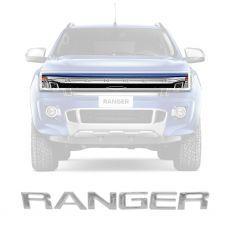Adesivo Grade Frontal Resinado Cromado Ford Nova Ranger 2013 Em Diante