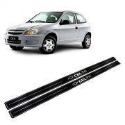 Adesivo Soleira Resinada Chevrolet Celta 2 Portas