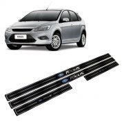 Adesivo Soleira Resinada Ford Focus Hatch/Sedan 4 Portas