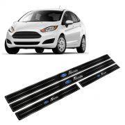 Adesivo Soleira Resinada Ford New Fiesta 4 Portas