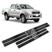 Adesivo Soleira Resinada Toyota Hilux 4 Portas
