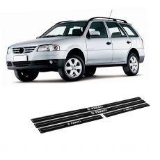 Adesivo Soleira Resinada Volkswagen Parati Até 2014 Modelo 4 Portas