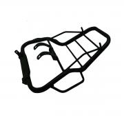 Bagageiro Polimet Reforçado Honda Titan 2000 até 2004 / Fan 125 até 2008 Com Alça Preto