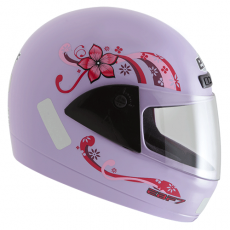 Capacete Moto Feminino Ebf Fit Penélope fechado