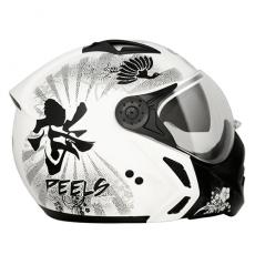 Capacete Peels Mirage Spirit Branco Grafite