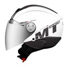 Capacete Mt Helmets City Eleven MT White