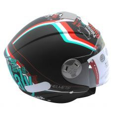 Capacete Mt Helmets City Eleven New Italy Matt Black (58)