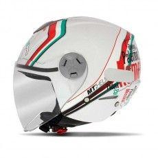 Capacete Mt Helmets City Eleven New Italy White (60)