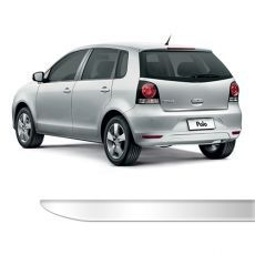 Friso Porta Malas Volkswagen Polo Hatch Cromado Resinado