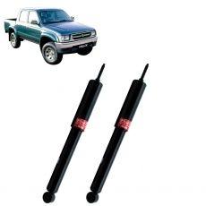 Par Amortecedores Dianteiros Kyb Toyota Hilux Srv 1988 Até 1994