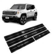 Adesivo Soleira Resinada Jeep Renegade Modelo 4 Portas