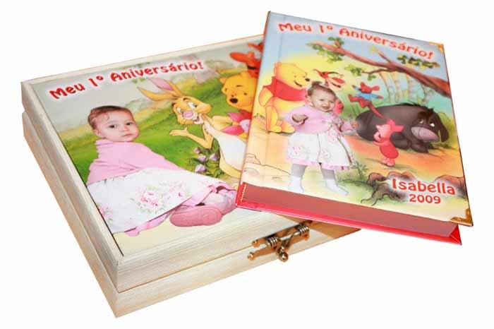 Estojo / Maleta - Liso ou Personalizado - Escolha o tamanho  - Book Express