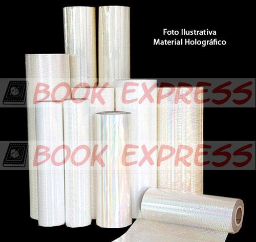 Bopp 3D Holográfica Pedras 33cm x  250 mts  - Book Express