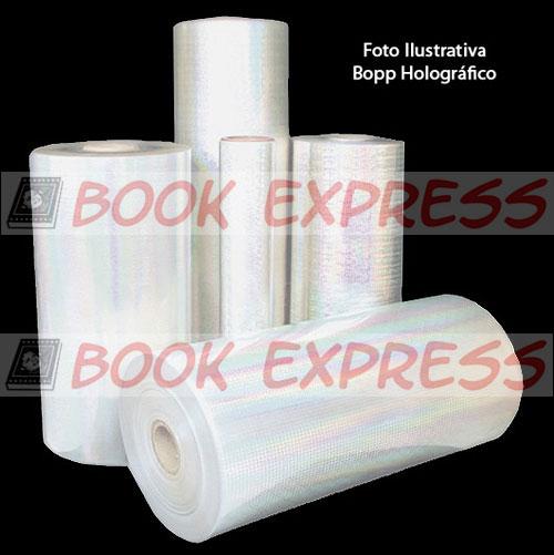 Bopp 3D Holográfica Janelas 31 cm x 200 mts  - Book Express