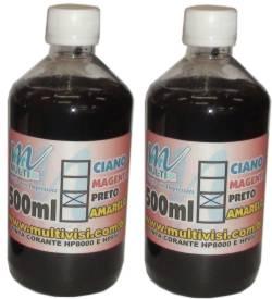 Tinta Corante Preta HP 8000 8100 8500 e 8600 - 1 litro