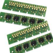 10 Chips para Cartuchos para impressora Epson Picture Mate 225 T5846 Pm225