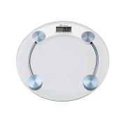 Balança Digital Eletrônica LCD em Vidro Temperado Para Banheiro