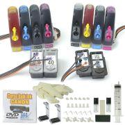 Bulk Ink para impressora Canon com os cartuchos 40, 41 e 210, 211