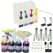Bulk Ink HP Completo e 400ml de tinta