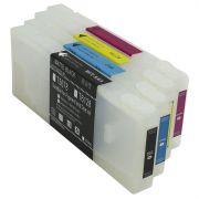 Cartucho Recarregável para impressoras Epson 7400 9400 com Chip