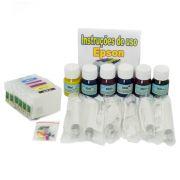 Cartuchos Recarreg�veis para T60 + 180ml de Tinta Pigmentada