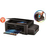 Impressora Epson L375 WiFi + Bulk Ink + 400ml Tinta Sublimática