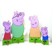 Kit Cenário Display de Chão Peppa Pig com 4 Peças - 3mm